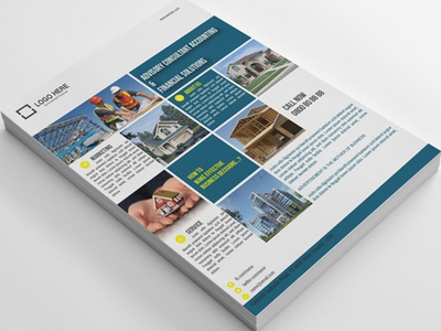 Modern Corporate Property Business Flyer