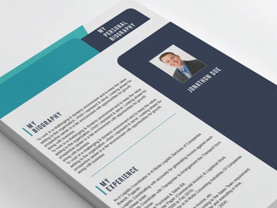 Resume and Cover letter Portfolio by Shuja on Dribbble