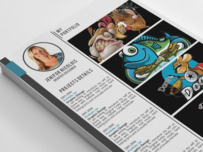 CV Resume and Cover letter Portfolio