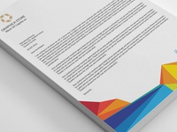 Graphica Store Colorful Letterheads