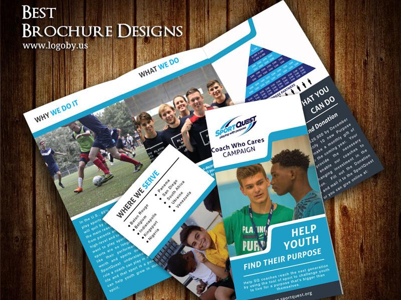 Sport Quest School Brochure Template by Shuja on Dribbble