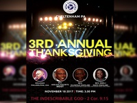 Annual Thanks Giving Flyer