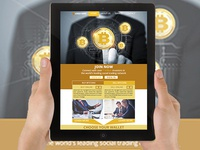 Bitcoin PSD Newsletter Email Template