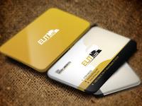 Elit-LOG Logo Design Business Card Iconic Design