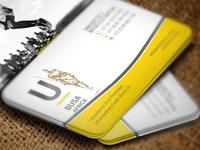 U Busa Africa NGO Business Card