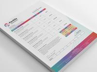 Perkilo Colorful Invoice Design