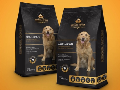Premium Dogs Food Packing