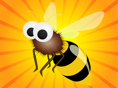 Bee vector illustrator
