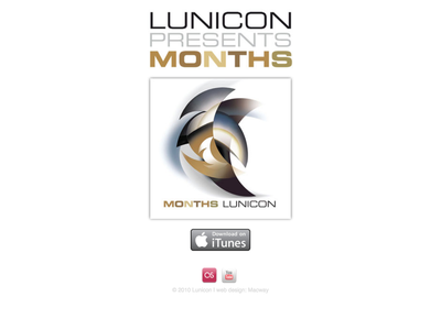 Lunicon web design
