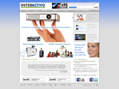 Interactivo web design