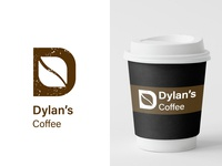 Daily Logo Challenge | Day 6 | Coffee Shop Logo | Dylan's Coffee