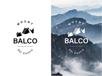 Daily logo challenge | Day 008 | Ski Mountain | Mount Balco