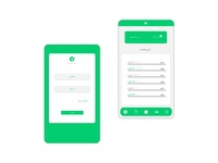 redesign the iranmehr bank application bank app web design iran application ui application redesign