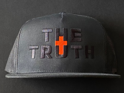 The Truth Cap apparel print logo brand branding