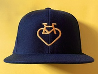 Bike Heart Cap