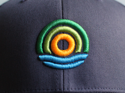 Sunrise Cap logos logo branding