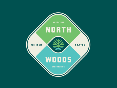 North Woods Series: Adventure Badge