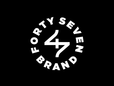 Forty Seven Brand Refresh Proposal brand identity ligature logos branding