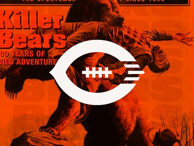 Chicago Bears Rebrand Proposal branding brand identity logos logo football