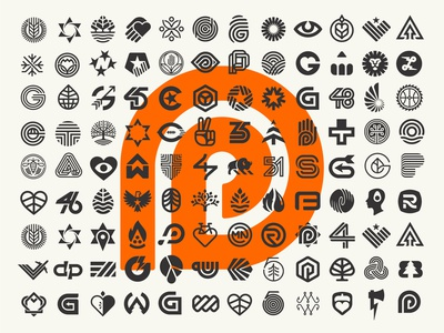 Logofolio 2000-2020 brand design poster design poster logo system brand identity brand logo designs logo designer logo design branding logo