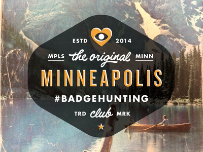 Minneapolis Badgehunting Club badgehunting badges classic american crest minneapolis mn hunting