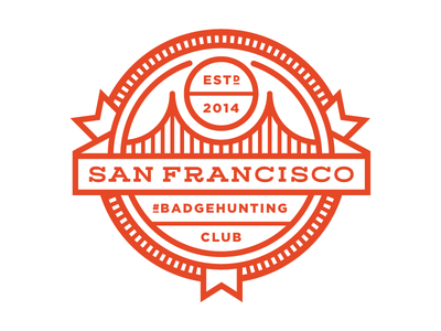 San Francisco #Badgehunting Club badgehunting badges classic american crest minneapolis mn hunting