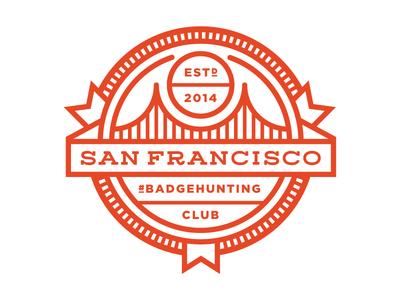 San Francisco #Badgehunting Club