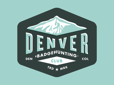 Denver  #Badgehunting Club badgehunting badges classic american crest minneapolis mn hunting