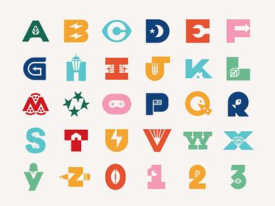 36 Days of Type 2021 branding