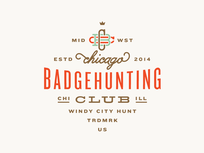 Chicago Badgehunting Club badgehunting badges classic american crest minneapolis mn hunting