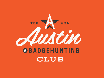Austin Badgehunting Club badgehunting badges classic american crest minneapolis mn hunting
