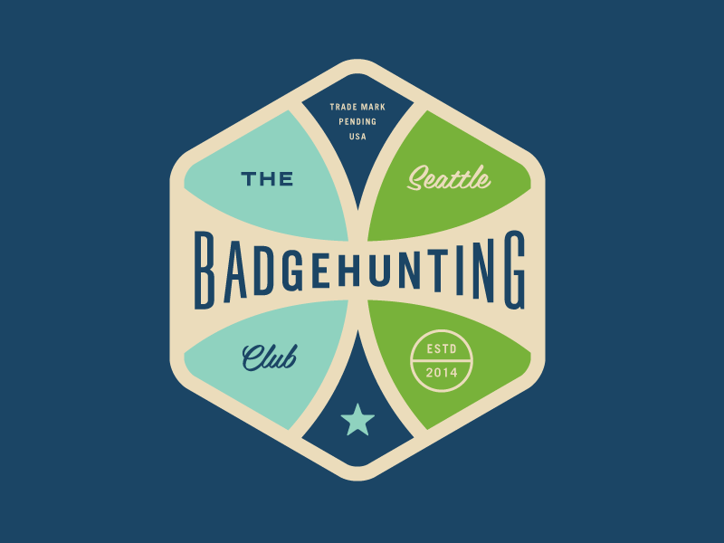 Seattle Badgehunting Club badgehunting badges classic american crest minneapolis mn hunting