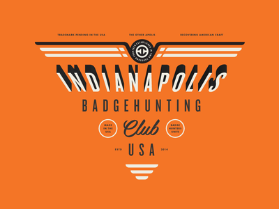 Indianapolis #badgehunting Club badgehunting badges classic american crest minneapolis mn hunting