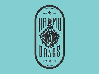 Hamb T-shirt Graphic 2 badgehunting badges classic american crest minneapolis mn hunting hamb