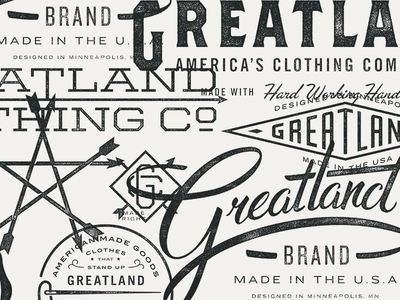 Greatland Identity badges retail made in the usa eagles