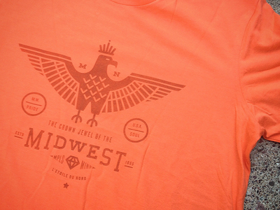 Midwest Eagle - Shirt Show badgehunting badges classic american crest minneapolis mn hunting