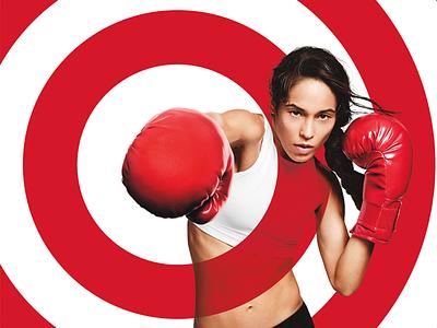 Target Branding: Boxing target branding identity