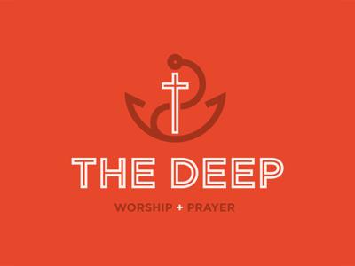 The Deep faith inline prayer church christian christianity cross anchor