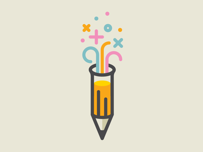 Pencil Potion brain storm creativity experiment sketch test tube potion pencil