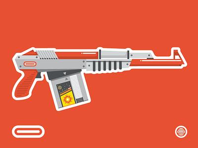 N16 Semi-Automatic Assault Light Gun duck hunt nintendo nes zapper light gun 8-bit