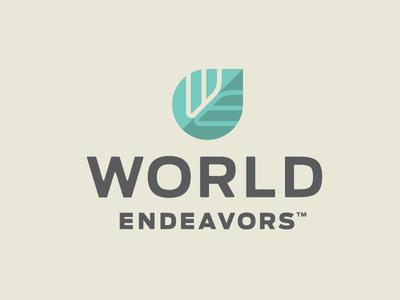 World Endeavors growth leaf e w