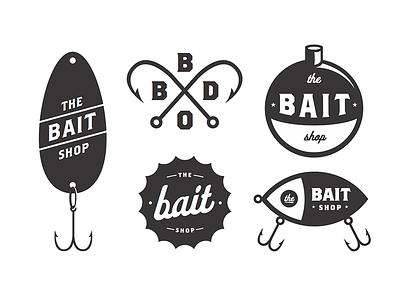 BBDO // The Bait Shop hooks hook lock-up badges badge lure fishing