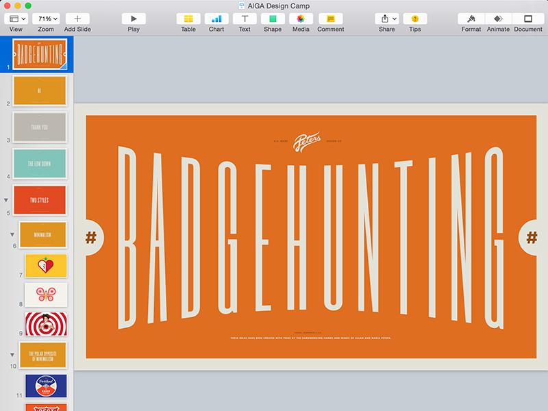 #Badgehunting Keynote badgehunting hunting education talk badge badges