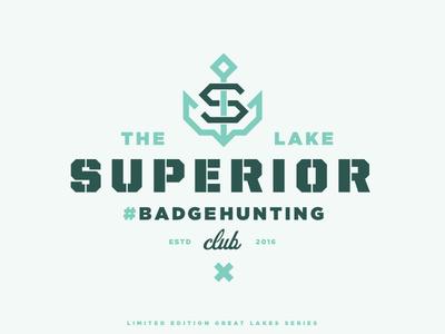 The Lake Superior #Badgehunting Club