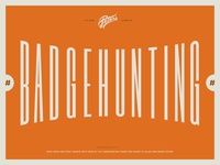 New #Badgehunting Talk on Youtube