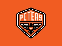 Peters Design Co Eagle Badge