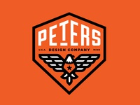 Peters Design Co Eagle Badge Revised