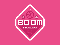 Boomshakalaka - Dribbble Sticker Pack Submission