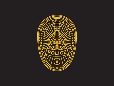 Eagan Police Logo branding city police logo crest badge