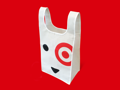 Target Dog Reusable Bag
